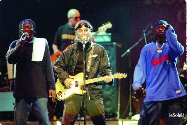 Le 11 juillet 1999, Les Colocs ont fait... (Photothèque Le Soleil, Jean-Marie Villeneuve)