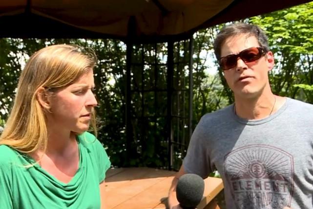 France Anne Morrison et Dominic Ethier gardent de... (capture d'écran TVA Nouvelles)