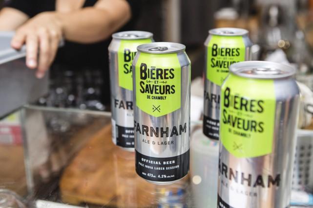 La microbrasserie Farnham Ale & Lager signe la... (tirée d'Internet)