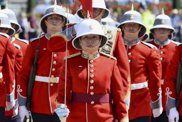 Megan Couto a commandé son unité invitée à... (AFP, John Stillwell)
