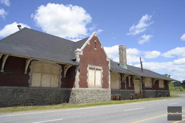 La Ville de Shawinigan souhaite restaurer l'ancienne gare... (Sylvain Mayer, Le Nouvelliste)