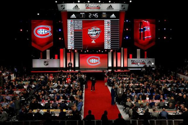 Le Canadien n'a sélectionné aucun joueur québécois lors... (PHOTO AP)