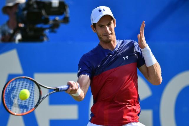 Andy Murray... (Photo Glyn Kirk, AFP)