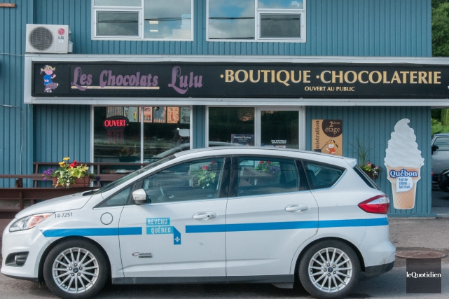 La perquisition de Revenu Québec chez Chocolats Lulu... (Photo archives Le Quotidien, Michel Tremblay)