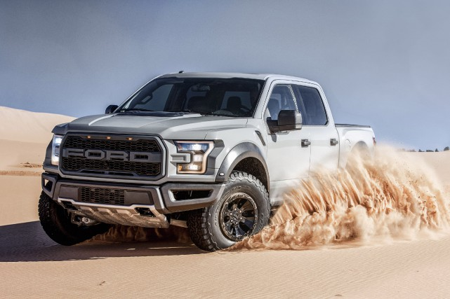 Le Ford F-150 Raptor... (Photo fournie par Ford)