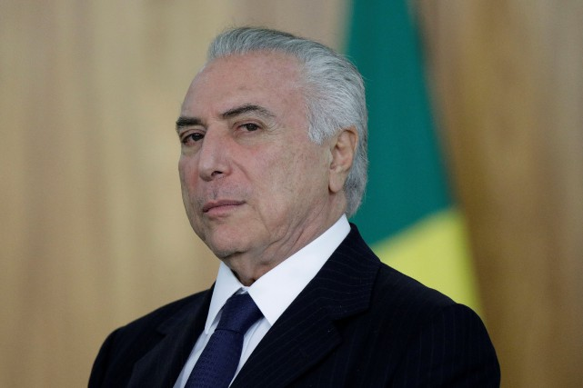 Michel Temer... (Photo Ueslei Marcelino, REUTERS)