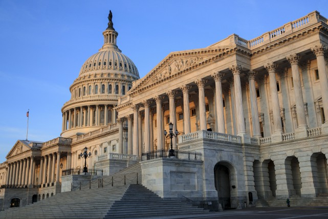 Des sénateurs républicains ont indiqué que le vote... (AP, J. Scott Applewhite)