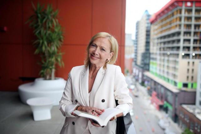 Christiane Germain faitpartie d'un cercle de lecture avec... (PHOTO Martin Chamberland, LA PRESSE)