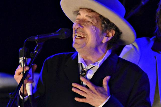 Bob Dylan a une longue histoire d'amour avec... (Archives, Associated Press)