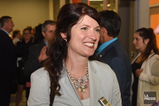 Nancy Déziel, conseillère du district de la Rivière.... (Francois Gervais)