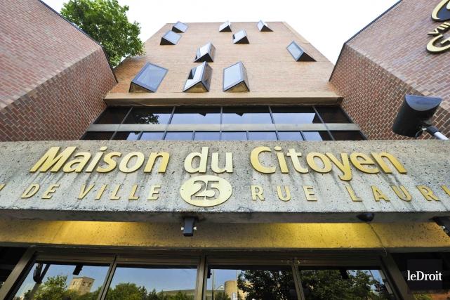 Maison du Citoyen de Gatineau... (Martin Roy, Archives Le Droit)