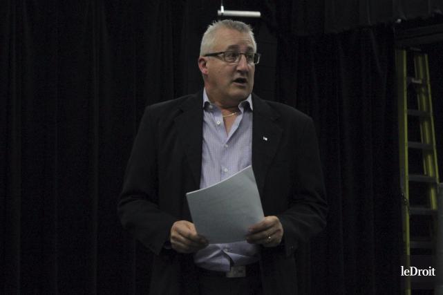 Le président de L'ACFO PR, Jacques Héroux... (Martin Brunette, Le Droit)