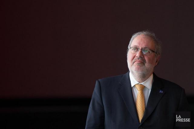 Pierre Arcand, ministre de l'Énergie et des Ressources... (PHOTOEDOUARD PLANTE-FRÉCHETTE, ARCHIVES LA PRESSE)