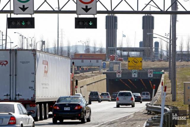 Les mesures de mitigation au chantier du tunnel... (PHOTO ROBERT MAILLOUX, ARCHIVES LA PRESSE)