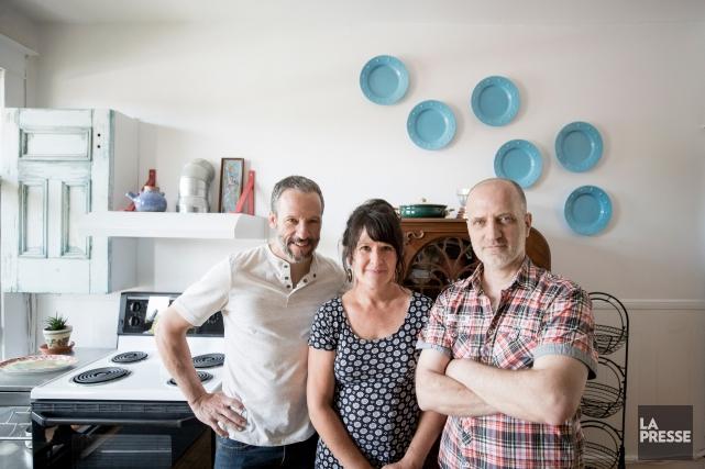Sylvain Paradis et Anne-Marie Dion ont confié à... (Photo Marco Campanozzi, La Presse)