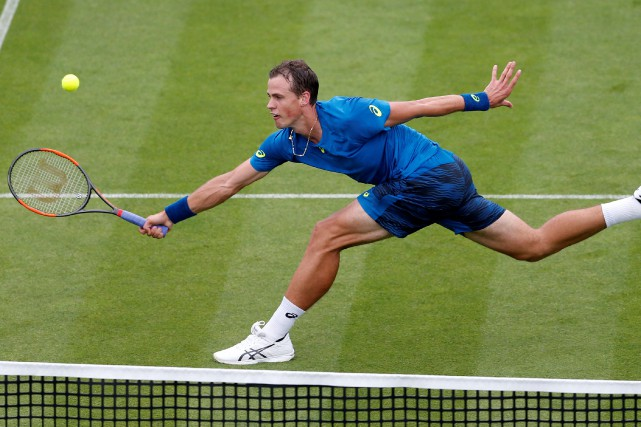 Vasek Pospisil... (Photo Matthew Childs, Reuters)