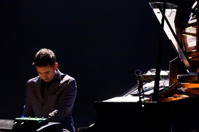 Le pianiste Vijay Iyer lors de son passage au... (PHOTO OLIVIER JEAN, archives LA PRESSE)