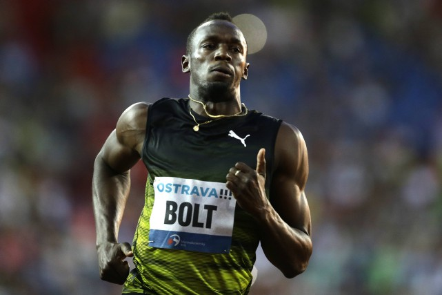 Usain Bolt... (Photo David W Cerny, Reuters)