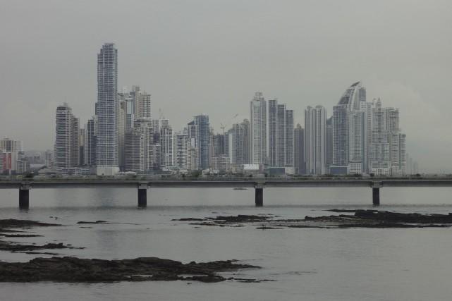 Panama, plus grande ville et capitale du pays... (collaboration spéciale Baptiste Ricard-Châtelain)
