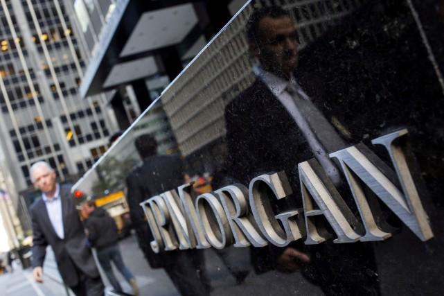 JPMorgan Chase, première banque américaine par actifs, va... (PHOTO REUTERS)