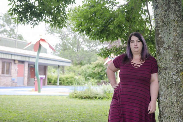 La Sherbrookoise Vicky Letarte pense avoir peut-être évité... (Spectre Média, Stéphanie Vallières)