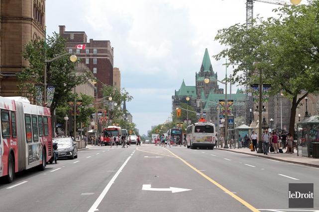 La rue Wellington à Ottawa sera fermée à... (Etienne Ranger, Le Droit)