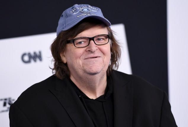 Le réalisateur Michael Moore... (AFP, Angela Weiss)