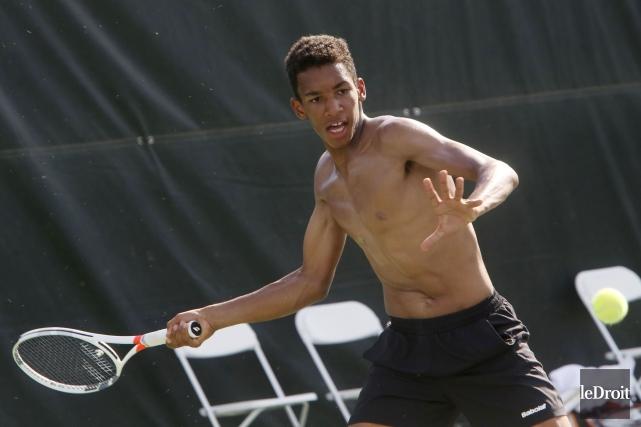 Le joueur de tennis montréalais Félix Auger-Aliassime sera... (Etienne Ranger, Archives Le Droit)