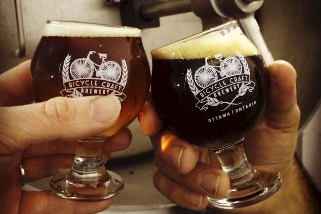 Le Canada fête ses 150 ans. L'occasion idéale d'aller découvrir la capitale... (tirée de la page Facebook de Bicycle Craft Brewery)