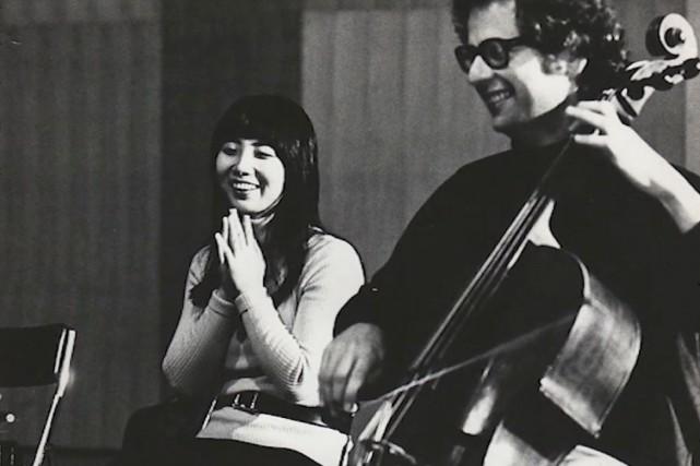 La violoniste Masuko Ushioda et le violoncelliste Laurence... (fournie)
