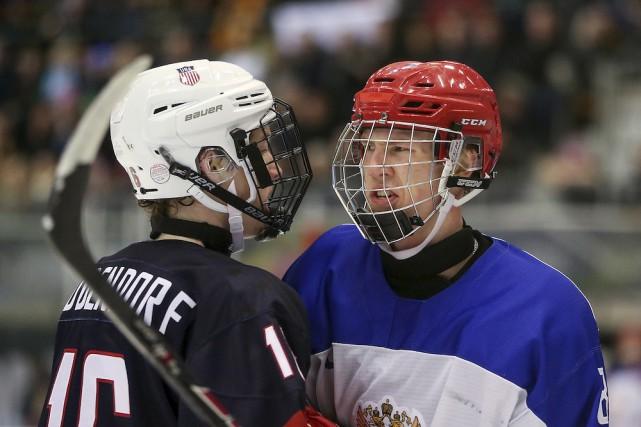 Le Russe Vladislav Kotkov (à droite) aura 18... (Photo tirée d'Internet, Jed Leicester)