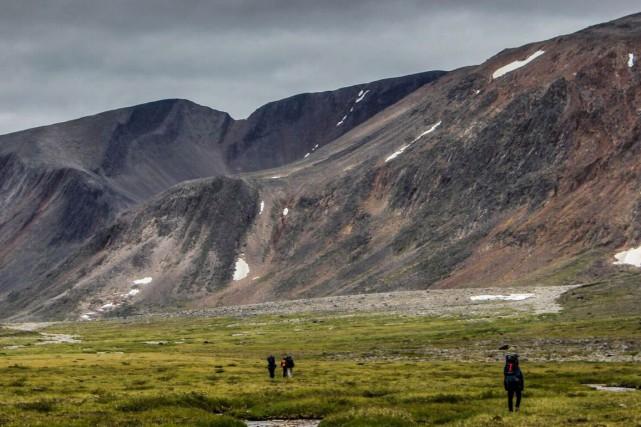 Le territoire où se déroulera l'expédition Qamaniq, La... (photo olivier paradis)