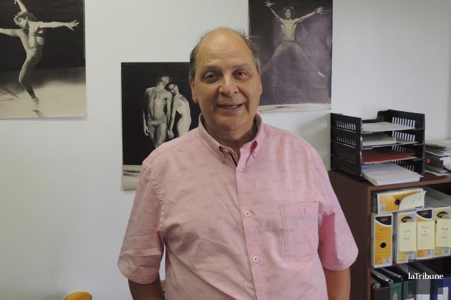 Le directeur du Comité culturel Mégantic, Pierre Paquet... (Photo La Tribune, Ronald Martel)