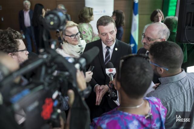 Le ministre de la Culture et des Communications,... (La Presse, Édouard Plante-Fréchette)
