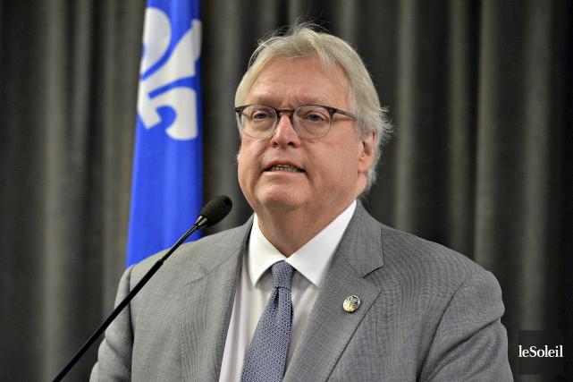Le ministre de la Santé, Gaétan Barrette, a... (Photothèque Le Soleil Patrice Laroche)