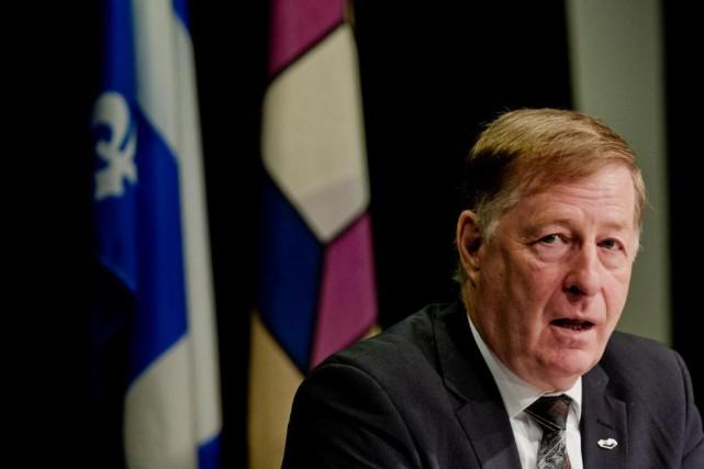 Le maire de Laval, Marc Demers, dénonce la... (PHOTO MARCO CAMPANOZZI, ARCHIVES LA PRESSE)