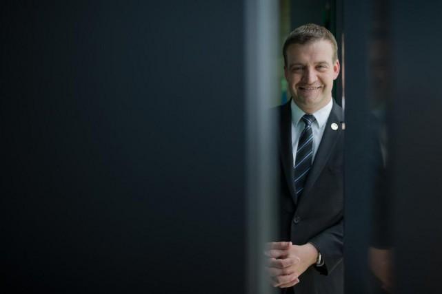 Le ministre de la Culture Luc Fortin s'engage... (Photo Edouard Plante-Fréchette, La Presse)