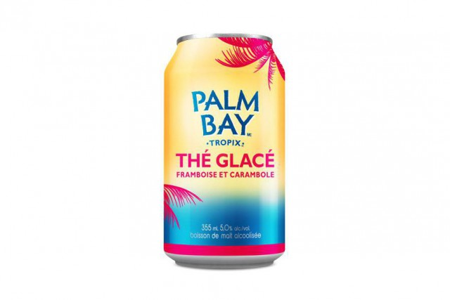 Thé glacé framboise et carambole, Palm Bay,assortiment de... (PHOTO FOURNIE PAR PALM BAY)