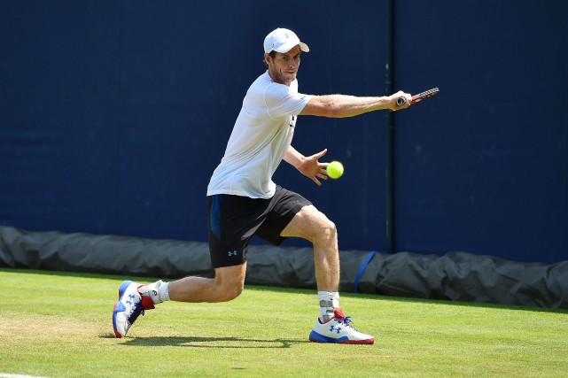 Andy Murray... (Photo Glyn Kirk, AFP)