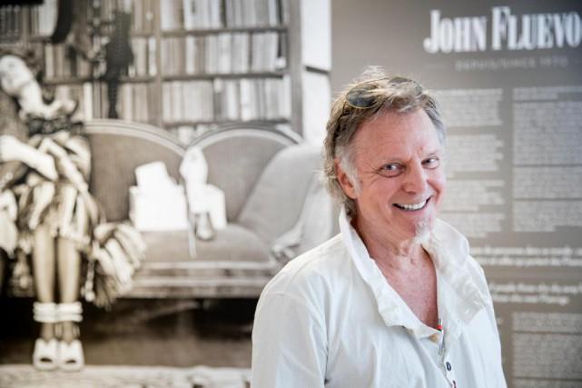 Le designer de chaussures canadien John Fluevog était... (PHOTO MARCO CAMPANOZZI, LA PRESSE)