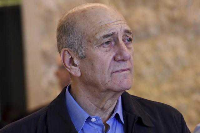 Éhoud Olmert devrait être remis en liberté le... (ARCHIVES AP)