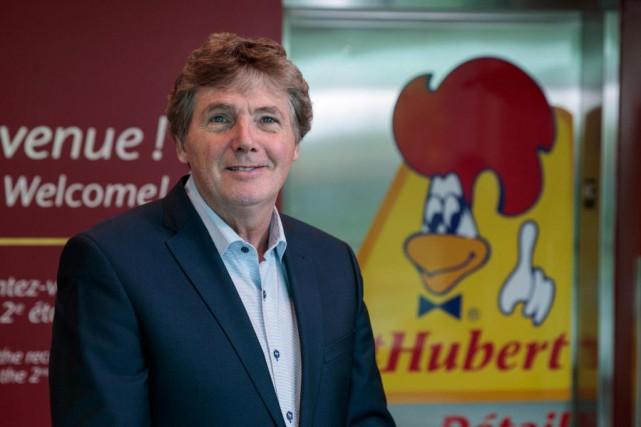 Pierre Rivard est président-directeur général du Groupe St-Hubert.... (Photo Hugo-Sébastien Aubert, La Presse)