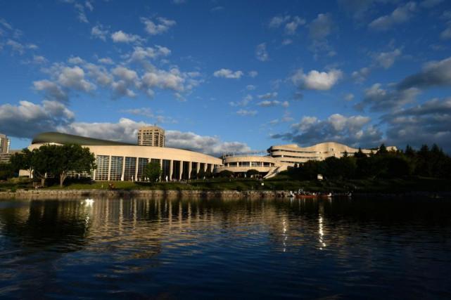 La Salle de l'histoire canadienne du Musée canadien... (PHOTO SEAN KILPATRICK, LA PRESSE CANADIENNE)