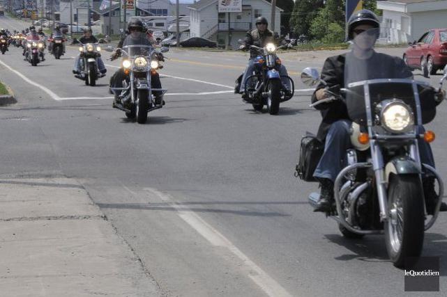 Des dizaines d'amateurs de moto sont attendus en fin de semaine à Sherbrooke... (Archives Le Quotidien)