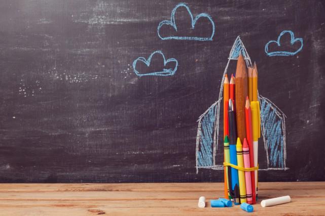 Certains élèves ont des idées pour changer l'école.... (Photo 123RF)