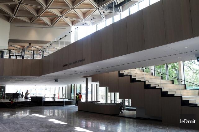 Le nouveau Centre national des arts (CNA)... (Etienne Ranger, Le Droit)