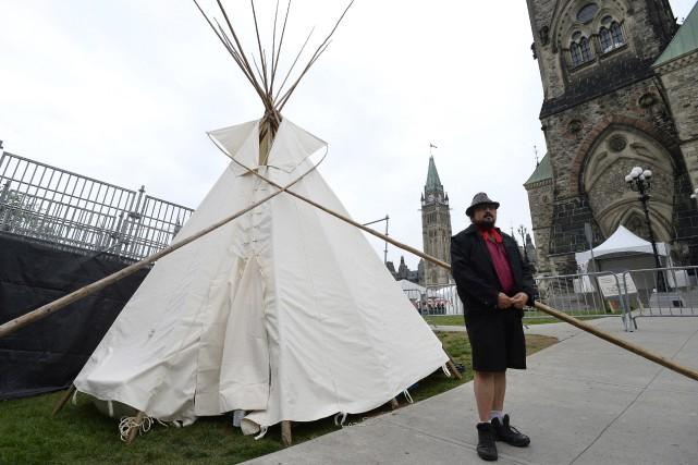 Les autorités responsables de la sécurité ont accepté... (Photo Justin Tang, La Presse canadienne)