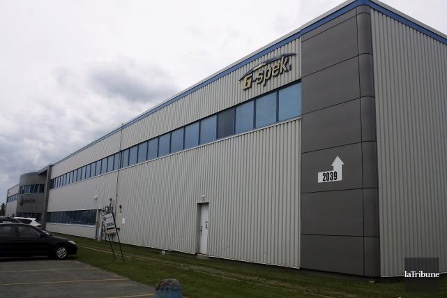 Le nombre d'employés de la compagnie G-Spek, située... (La Tribune, Jean-François Gagnon)