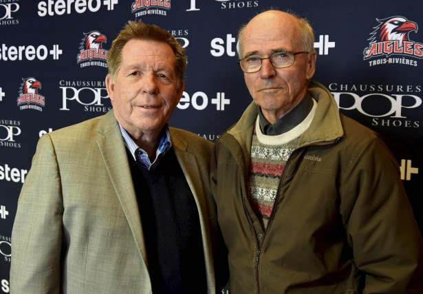 Rodger Brulotte et Jean Hamelin des amis de... (Gilles Joubert)