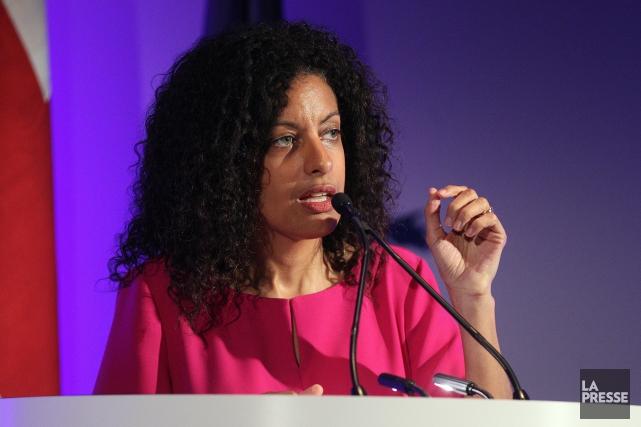 Dominique Anglade,ministre de l'Économie, de la Science et... (Archives, La Presse)